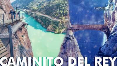 Caminito del Rey – Der beeindruckende und spannendste Wandersteig Europas